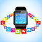 Stock Image : Smartwatch and Application Icons