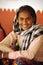 Stock Image : Smiling Indian girl. Rajasthan, India.