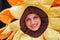 Stock Image : Smiling Mascot