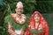 Smiling Nepali Bridal Couple