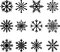 Stock Image : Snow flakes