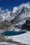 Stock Image : The snow mountain of Konka Risumgongba