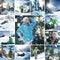 Stock Image : Snowboard mix