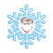 SnowFlake Emoticon - In Love
