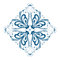 Stock Image : Snowflake ornament