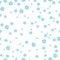 Stock Image : Snowflakes seamless pattern