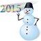 Stock Image : Snowman.