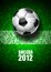 Stock Image : Soccer 2012
