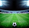 Stock Image : Soccer field