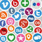 Stock Image : Social Media Icons
