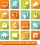 Stock Image : Social, media, web icons
