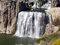 Stock Image : Some of the waterfalls at Shoshone Falls in Idaho