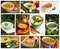 Stock Image : Soup collage