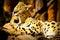Stock Image : Serval licking paw