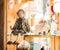Stock Image : Souvenirs shop assortment