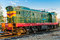 Stock Image : Soviet diesel locomotive