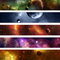 Stock Image : Space Galaxy Banner