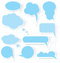 Stock Image : Speech bubble stickers vector