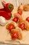 Stock Image : Spicy chicken skewer