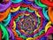 Stock Image : Spiral Decend