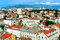 Stock Image : Split cityscape