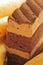 Stock Image : Sponge coffee cake