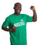 Stock Image : Sports fan from Nigeria is happy