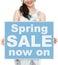 Stock Image : Spring Sale