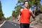 Stock Image : Sprinting runner man running fast