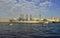 Stock Image : St. Petersburg. Passage of cruiser