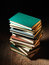 Stock Image : Stack of hardcover books
