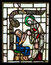 Stock Image : Stained glass window