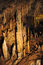 Stock Image : Stalactites in Gyokusendo Cave, 1cm per 30 years, Okinawa World