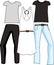 Stock Image : Staple Fashion Separates