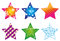 Stock Image : Star-collection