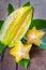 Stock Image : Star fruit