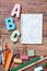 Stock Image : Stationery objects