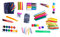 Stock Image : Stationery for school and office