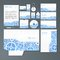 Stock Image : Stationery set with gears