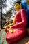 Stock Image : Statue of Buddha, Swayambhunath, Kathmandu, Nepal