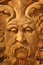 Stock Image : Statue face