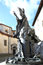 Stock Image : Statue of Pope Paulus VI in Varese, Italy
