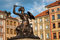 Stock Image : Statue of Siren, Warsaw old town (city symbol)