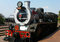 Stock Image : Steam  train about to depart from Capital Park Station in Pretoria  Pride of Africa train is  one of the World s Top 25 Trains