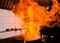 Stock Image : Stir fire very hot