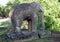 Stock Image : Stone Elephant at Prasat Prea