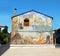Stock Image :  Straatmuurschildering in San Sperate