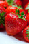 Stock Image : Strawberries closeup
