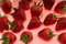 Stock Image : Strawberry background