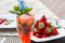 Stock Image : Strawberry cocktail